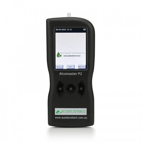 Alcomaster P2 Breathalyser Front